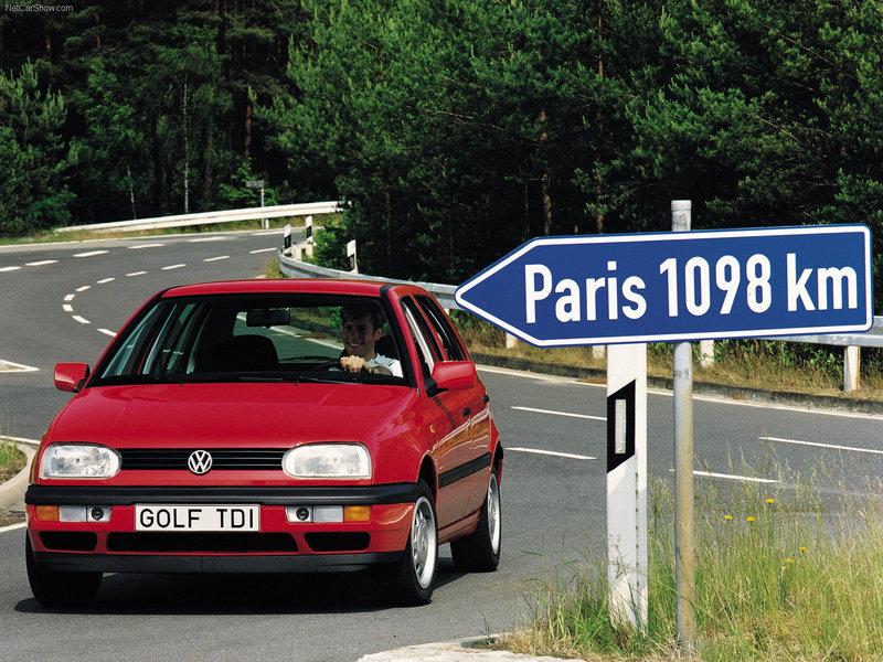 Golf III (1991-1997) - Volkswagen - Фотокаталог - История авто