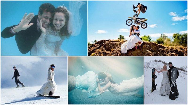 Интересные идеи для свадебной фотосессии | Первый свадебный