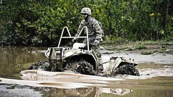 Использование квадроциклов в армиях НАТО