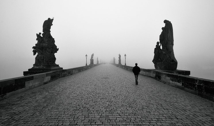 Карлов мост в Праге. Чехия. Красивые фото