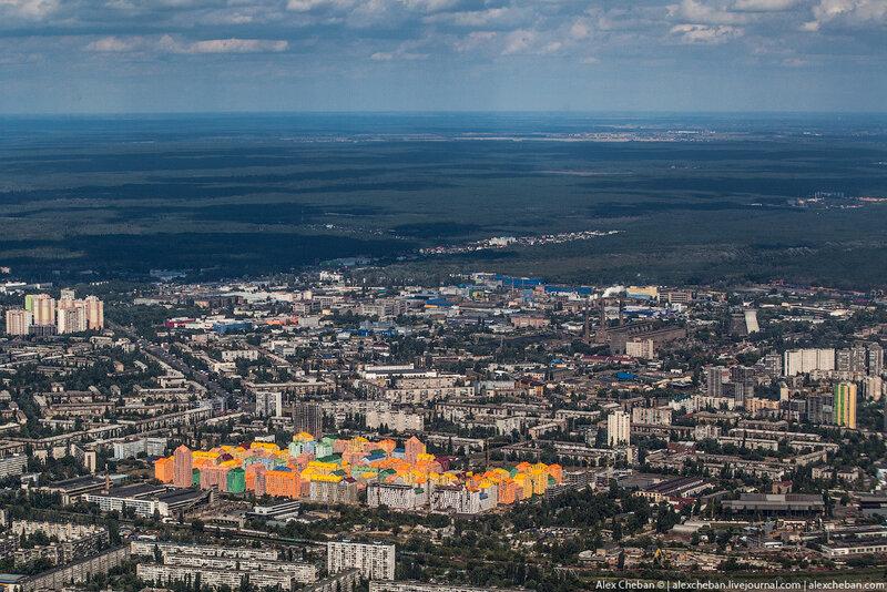 Киев с высоты птичьего полета - фото 5