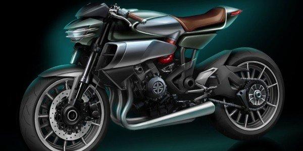 Концепт мотоцикла Kawasaki SC-02 Soul Charger