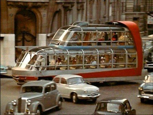 Концепты и необычные модели ретрофутуристичного транспорта
