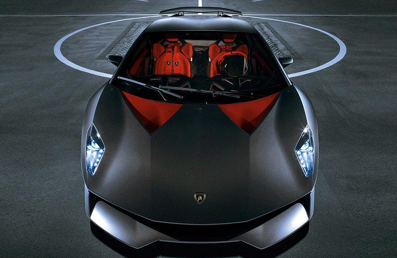 Lamborghini Sesto Elemento с карбоновым кузовом