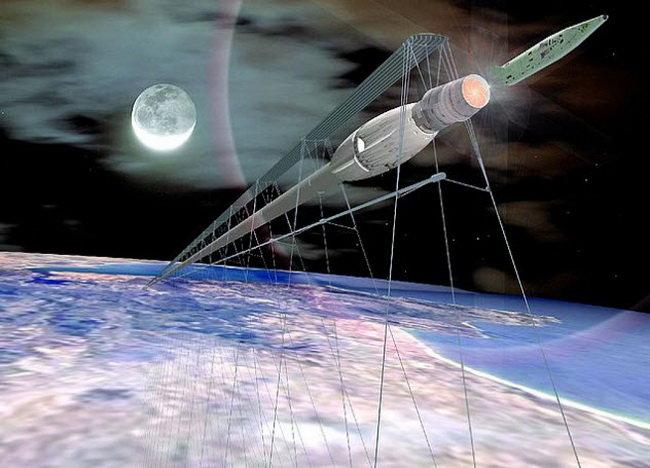 Магнитный космический поезд