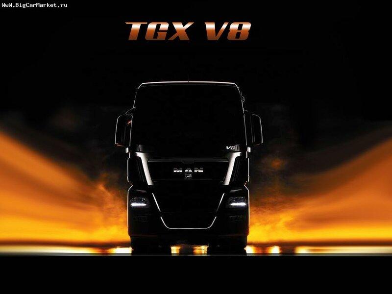 Man TGX V8