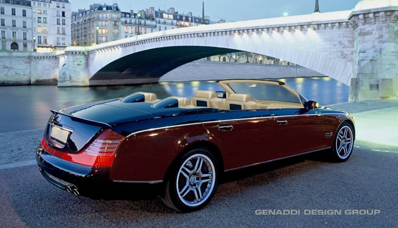 Maybach Speedster