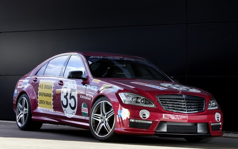 Mercedes-Benz S63 AMG Show Car