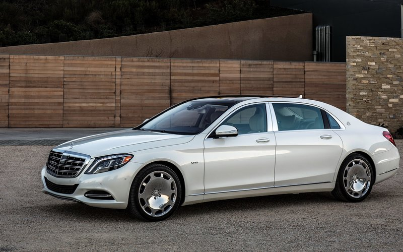 Mercedes Maybach S600 US-spec