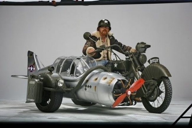 Messerschmitt Me-109: мотоцикл и истребитель - Интернет-журнал CUSTOMMOTO