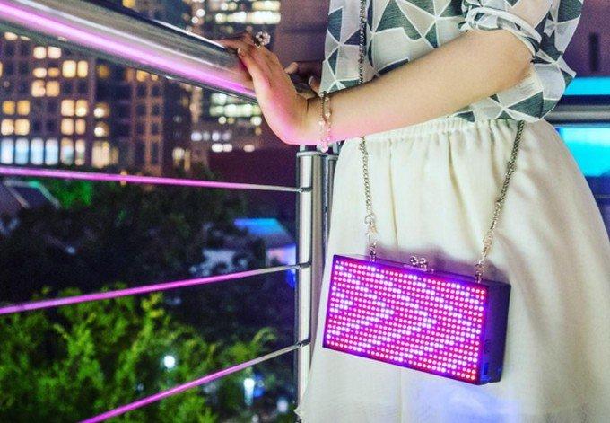 Модный клатч с LED-анимацией (10 фото + 2 видео)