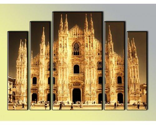 "Модульная картина ""Duomo di Milano"""