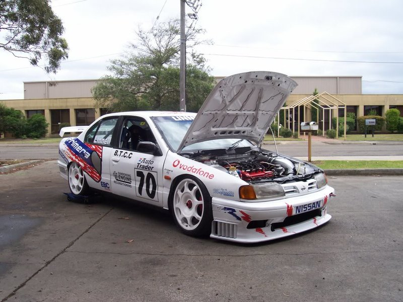 Nissan Primera P10 eGT BTCC