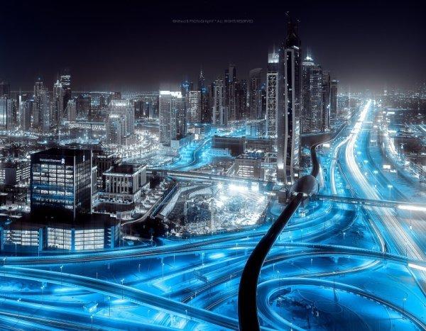 Ночной город - ночной город фото, фото ночного города – ФотоКто