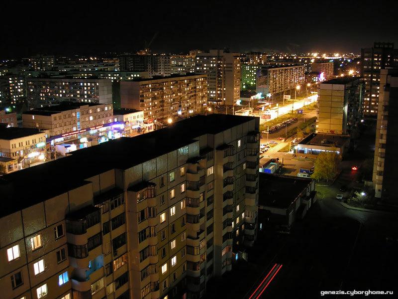 Ночной город, тольятти