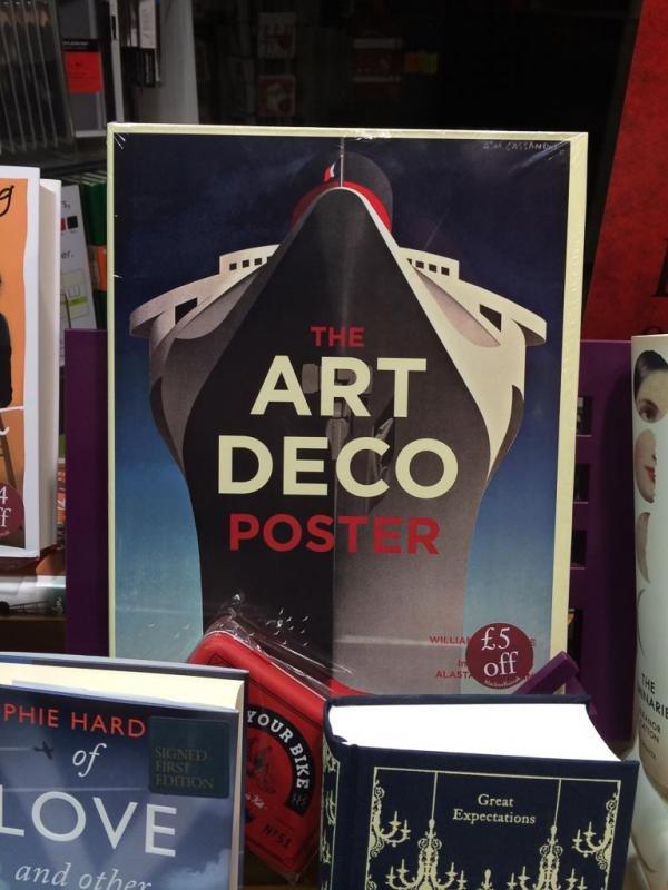 Обложка книги «Постер арт-деко»