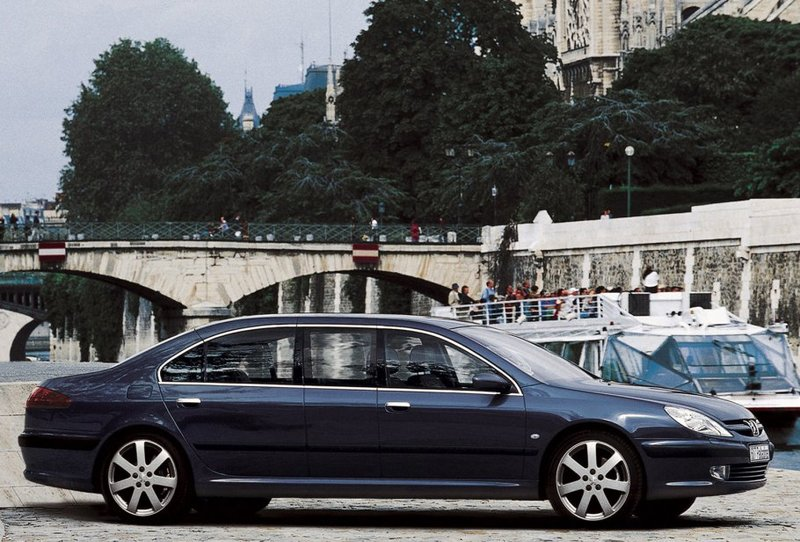 Peugeot 607 Paladine Concept 2000