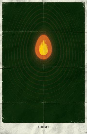 Подборка минималистичных постеров вселенной Marvel от Марко Манева.