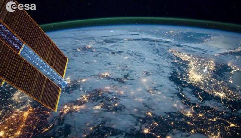 Погляд з орбіти: Неймовірне таймлапс-відео з МКС