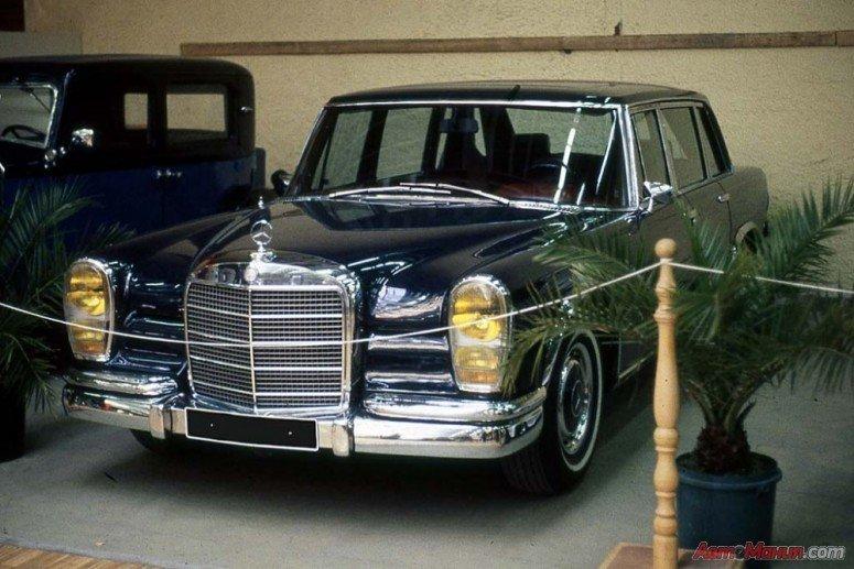 Попмобиль 1965 Pullman Mercedes 600 [20 фото]