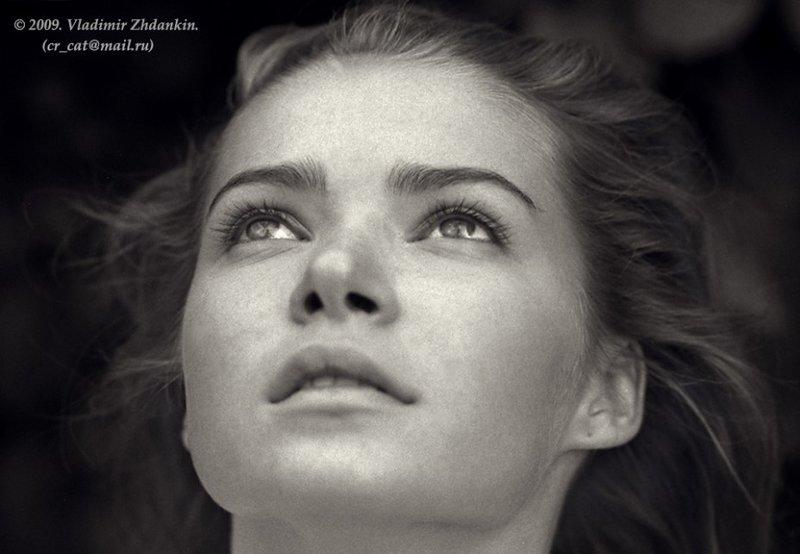 портреты / девушки, портрет, черно-белое, ч-б, фотопленка