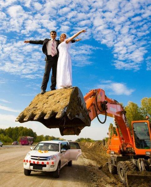 Приколы со свадьбы (37 фото)