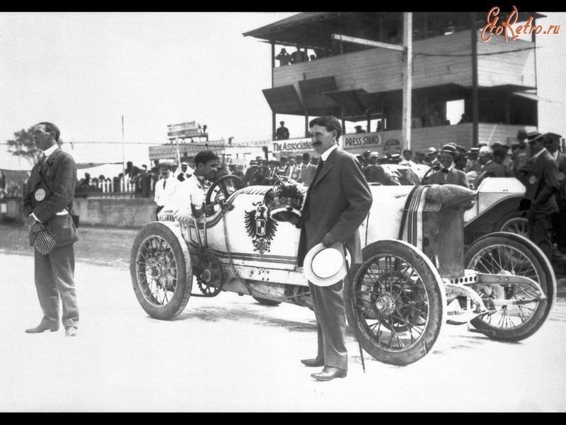 Ретро автомобили - История автогонок