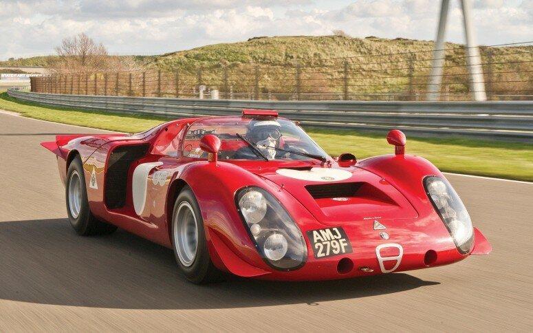 RM Auctions выставляет редчайший Alfa Romeo Tipo 33/2 «Daytona» [фото]