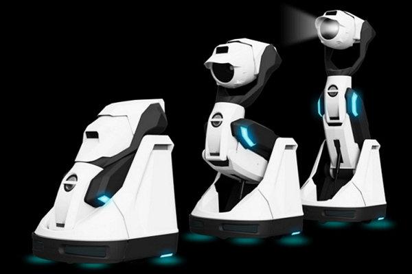 Робот-проектор Tipron представлен на CES 2016 - 4PDA