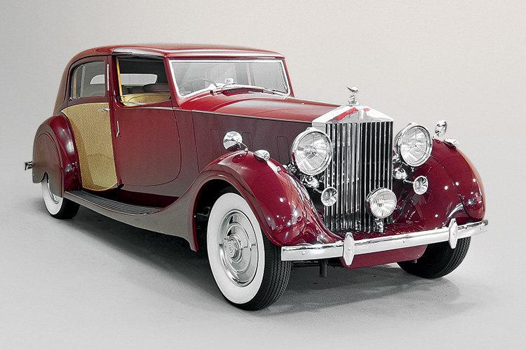 Rolls-Royce Phantom III Sedanca de Ville by J.Gurney Nutting