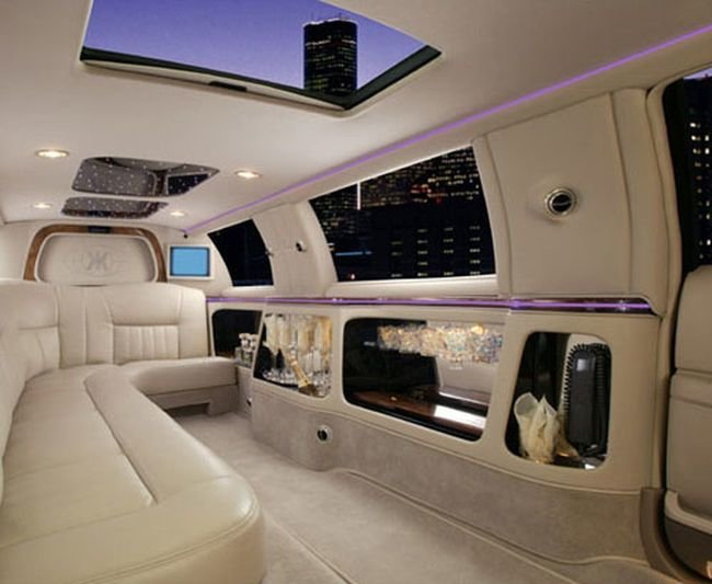Салон лимузина