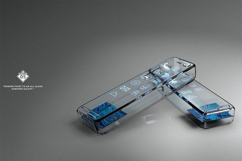 Samsung своими концептами Galaxy пародирует распространителей фейков