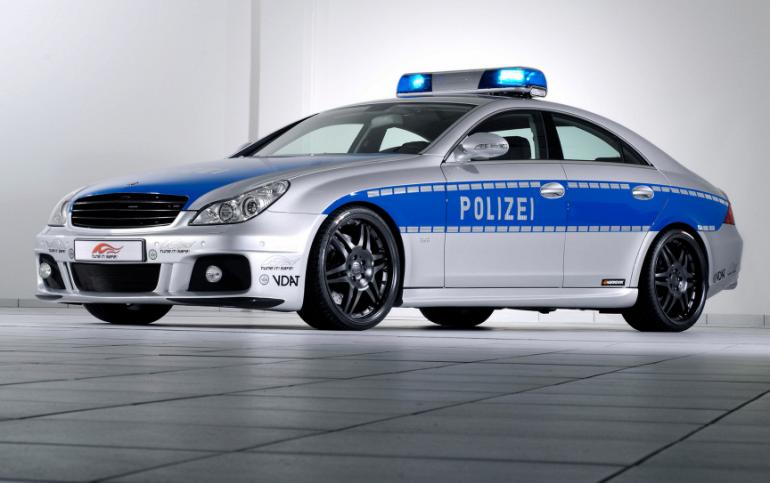 Самые дорогие полицейские автомобили