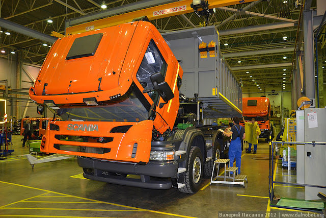 Scania - экскурсия на завод