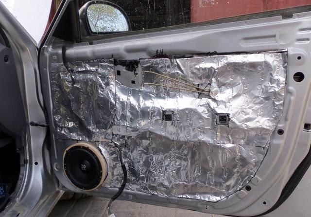 Шумоизоляция автомобиля для качественного звука