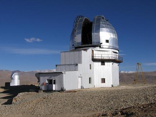 Телескоп  индийской астрономической обсерватории