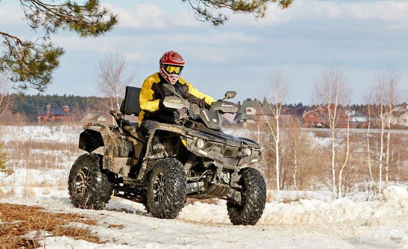 Тест-драйв квадроцикла Stels ATV800G Guepard: самый русский зверь