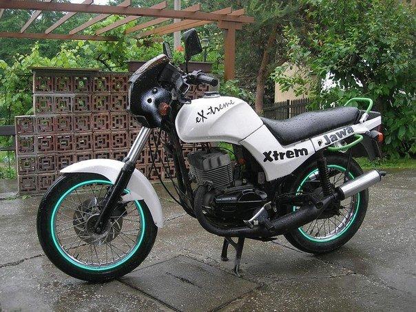 Тюнинг мотоцикла Ява – внешний вид и скорость + видео | TuningKod