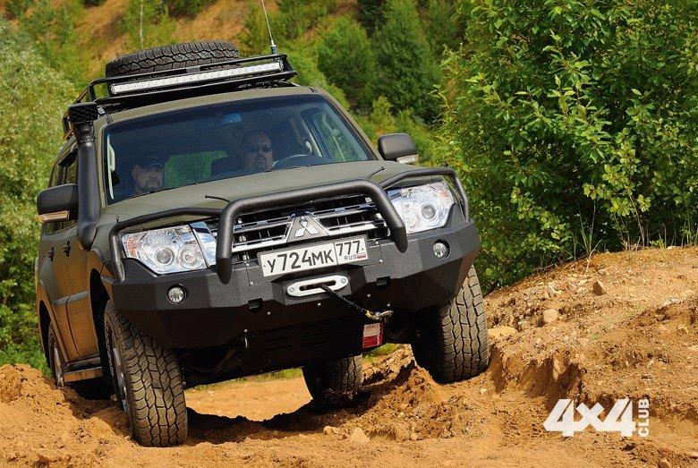 Тюнингуем Mitsubishi Pajero IV для сахалинского бездорожья
