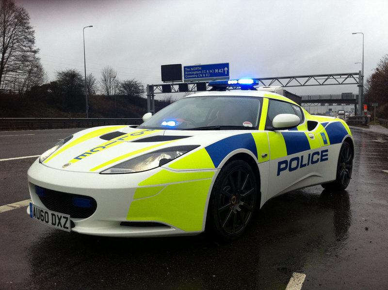 UK Police опробует  Lotus Evora ~ Тюнинг новости от Tuninger Kiev E-zine