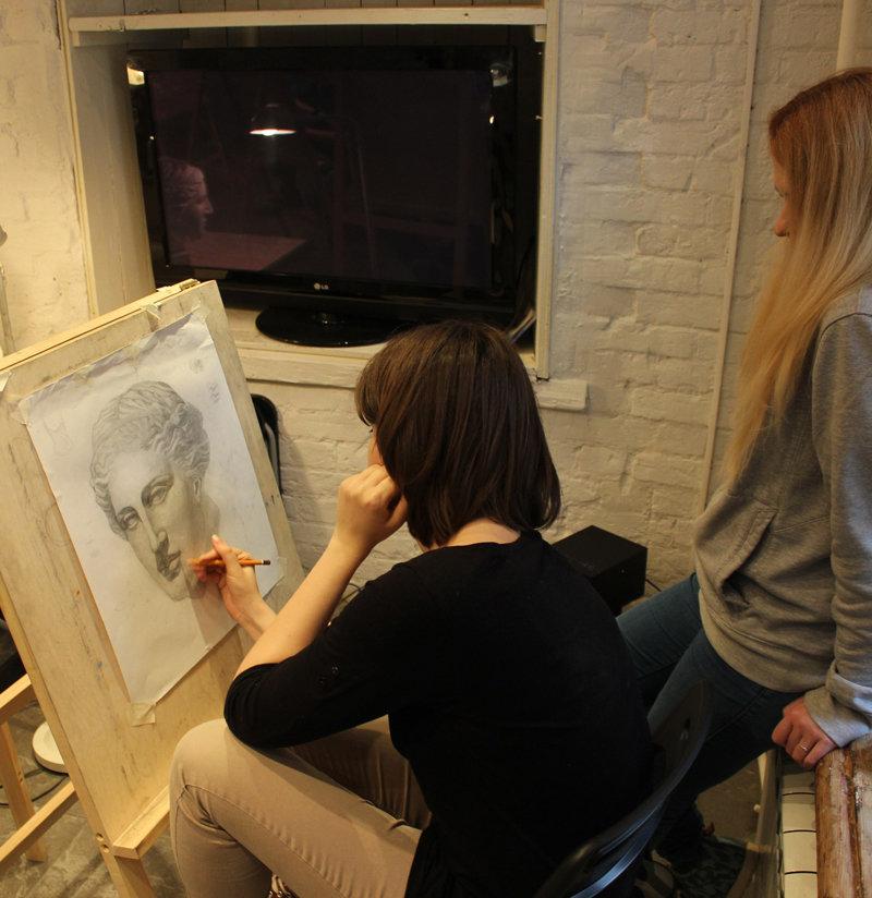 Уроки Академического рисунка для начинающих