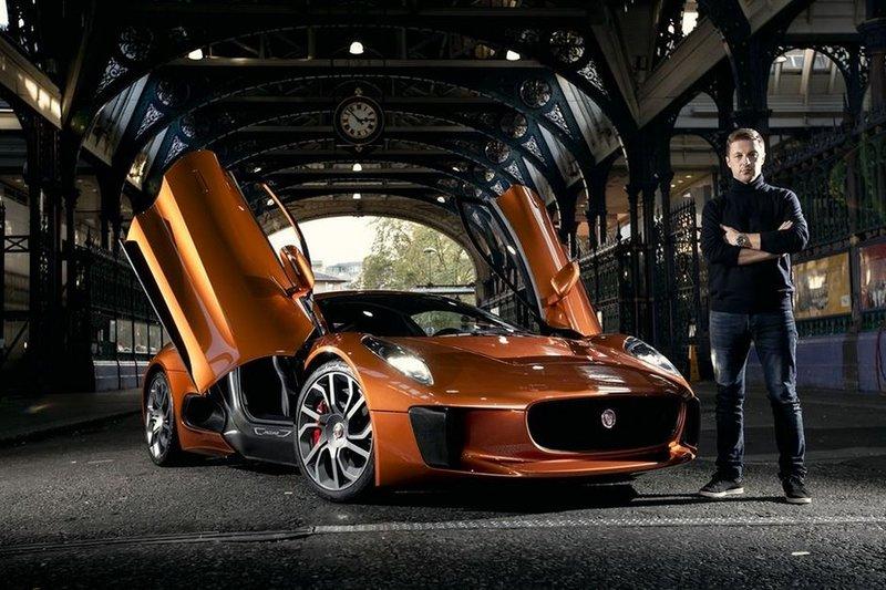 В Лондоне презентовали Jaguar C-X75 из фильма «007: Спектр» | Блог о самом интересном