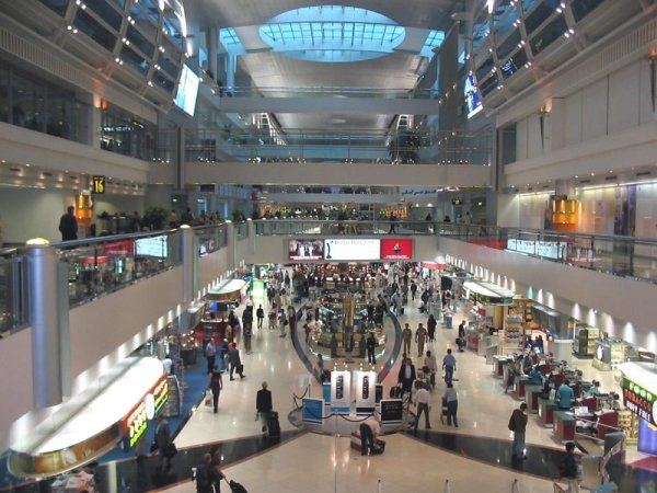 Внутри Dubai World Central International Airport