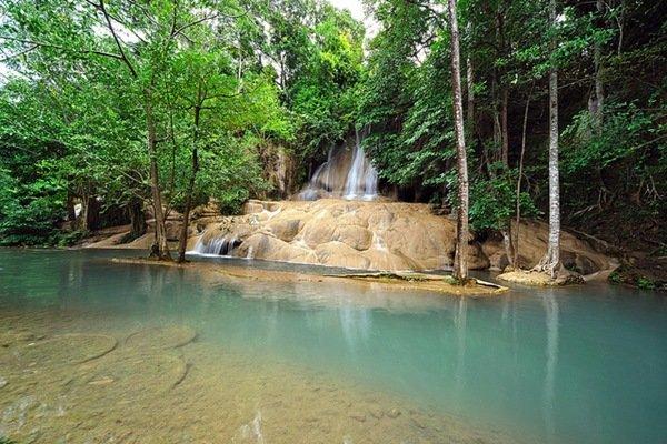 водопад Эраван Тайланд