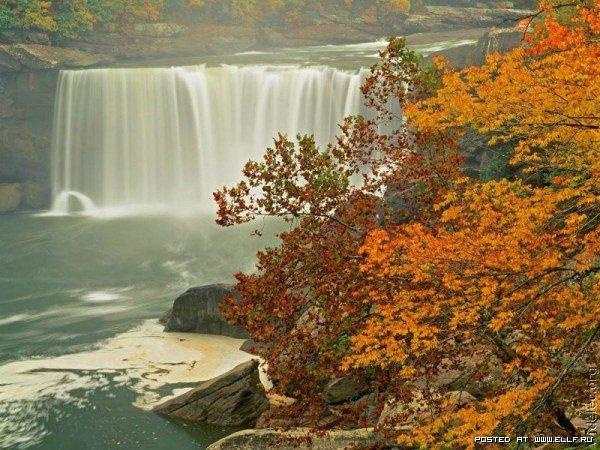 Водопады (50 фото)