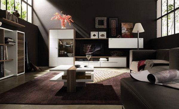 Темный и стильный дизайн