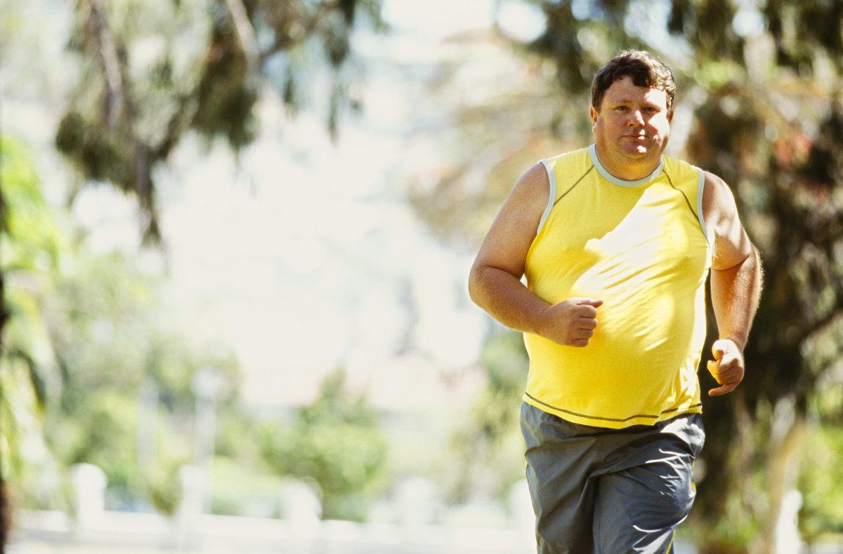 Бег жир похудение