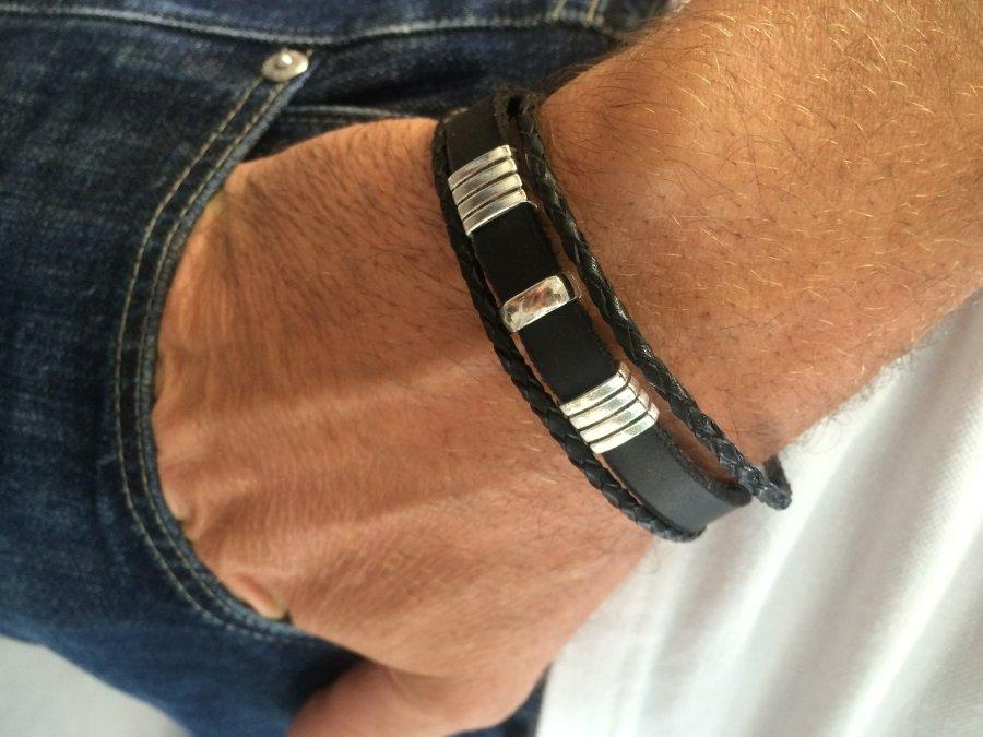 мужские кожаные браслеты Card From User Vitalik01400 In Yandex