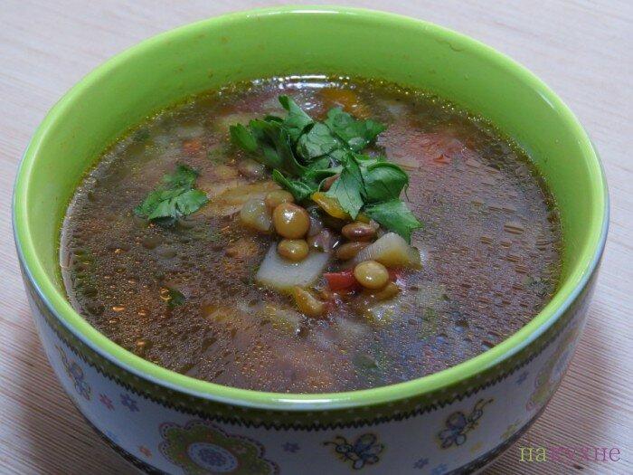Суп из чечевицы рецепт с курицей фото