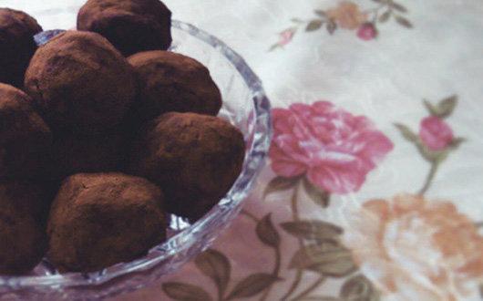 """Веганские пирожные """"Картошка"""""""